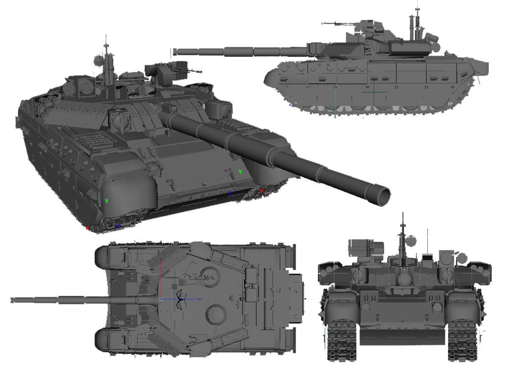 Russian MBT - 84 - 2